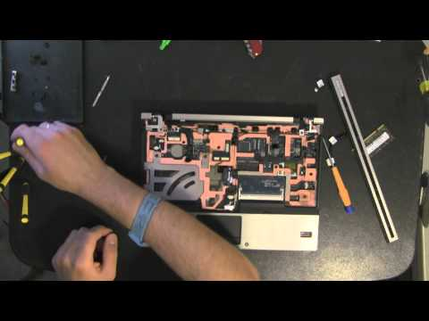 hp-elitebook-2530p-laptop-take-apart-video,-disassemble,-how-to-open-disassembly