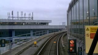 DLR From Canning Town to Woolwich Arsenal, London, United Kingdom