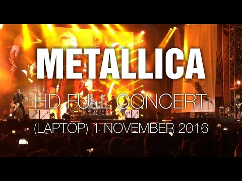Metallica [HD Full Concert] @ Bogotá 1 Nov 2016 (Laptop Only)