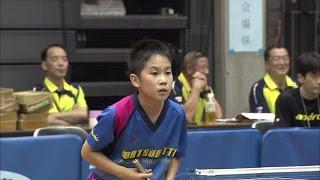 【全農杯 全日本卓球選手権大会 ホープス・カブ・バンビの部】ダイジェスト⑩