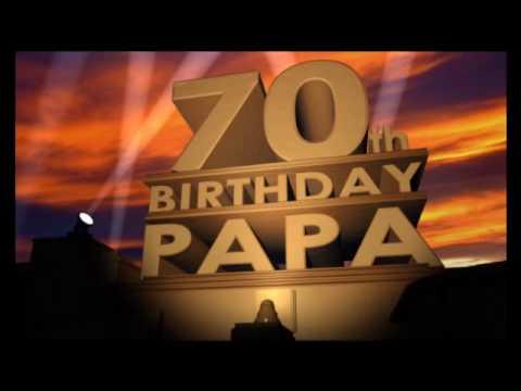 70th BIRTHDAY PAPA
