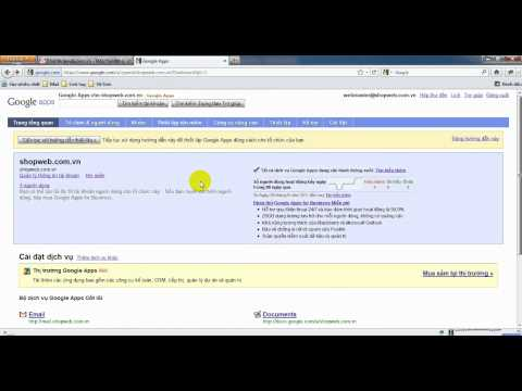 [Vinastar.org] Hướng dẫn quản trị Mail Google Apps