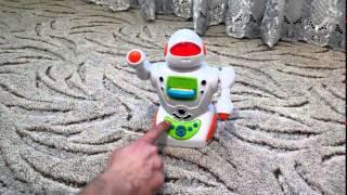 Видео обзор детская игрушка - Интерактивный робот. Подарок ребенку (kidtoy.in.ua)(Заказать: https://vk.com/album-47667519_169904684 Интернет-магазин детских игрушек и хозтоваров KIDTOY - http://kidtoy.in.ua ВК - http://vk.com/ki..., 2014-12-21T20:50:26.000Z)