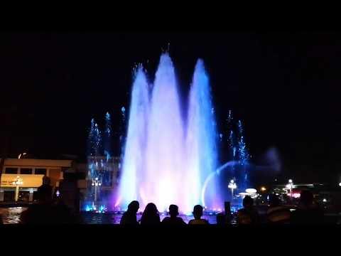 Dancing Fountain at Paseo del Mar, Zamboanga City 2018