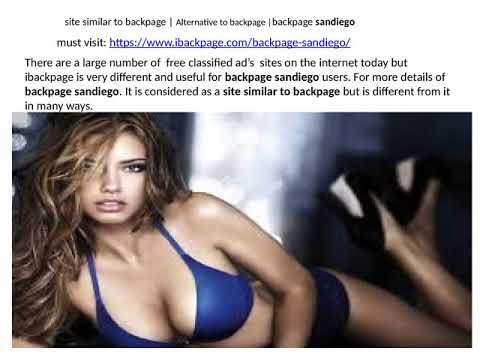 Site Similar To Backpage Alternative To Backpage Backpage Sandiego