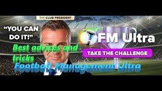 Football Management Ultra advices and tricks screenshot 2