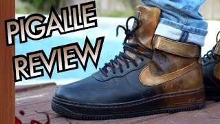 Pigalle x Nike AF1 High W/ On-Feet Review