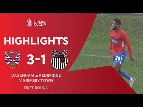 Dagenham & Red. Grimsby Goals And Highlights