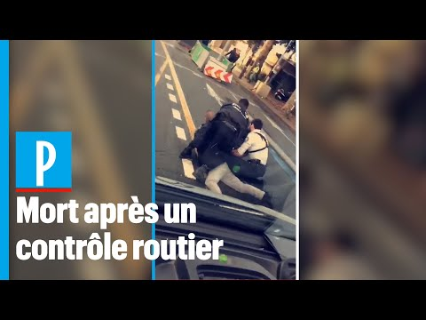 La policía francesa mata a un repartidor en un control rutinario
