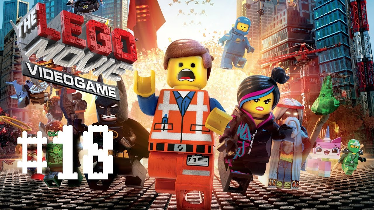 The Lego Movie Videogame Part 18 Broadcast News Walkthrough Playthrough