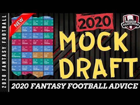 Fantasy Football Mock Draft - 2020 Mock Draft With Player Analysis - Draft Day Advice
