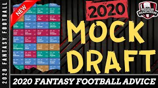 Fantasy Football Mock Draft - 2020 Mock Draft with Player Analysis - Draft Day Advice