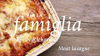 Meat Lasagna Recipe _ Le Gourmet TV 4K