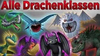 Dragons - Alle Drachenklassen   (Deutsch)