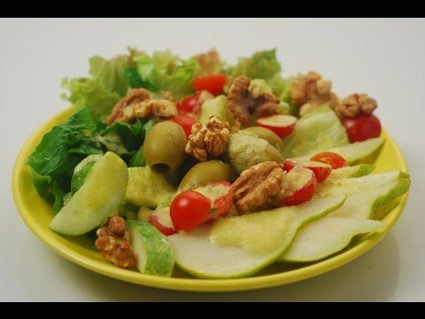 Pear and Walnut Salad | Cooksmart with Walnuts | Chef Sanjeev Kapoor