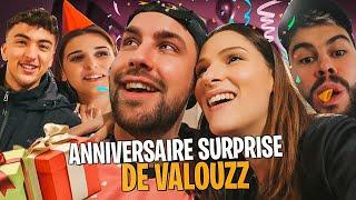 Je fais l'anniversaire surprise de @Valouzz pour ses 29 ans 🥳