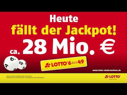 LOTTO-Jackpot: 28 Mio. € Am Mittwoch, 14.08.2019