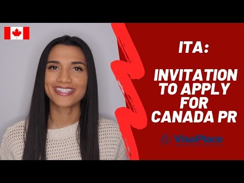 Get An Invitation To Apply For Canada Permanent Residency
