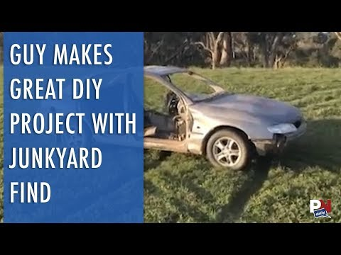 Guy Makes A Great DIY Project With A Junkyard Find