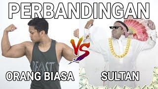 PERBANDINGAN FITNESS ORANG BIASA VS SULTAN | FT. AA UTAP