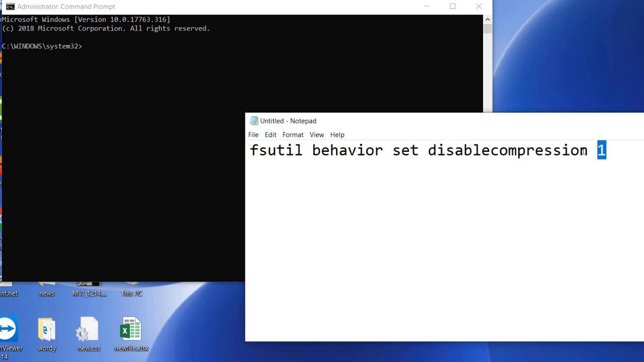 Phương pháp phương pháp Tắt công dụng Nén Tệp Trong window 10