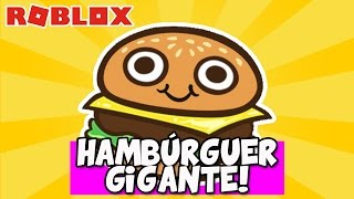 THIS GAVE LUNCH STOMACHACHE! -Roblox (Escape the Giant Burger)