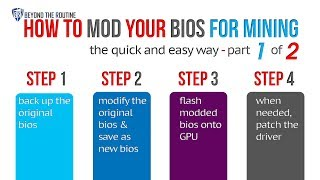 BtR - How to mod and flash your AMD GPUs' bios for mining
