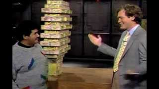 letterman stupid human tricks 1987