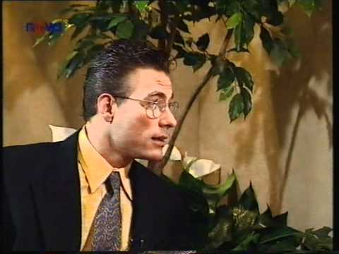 Van Damme v Praze 1995 - interview in Prague