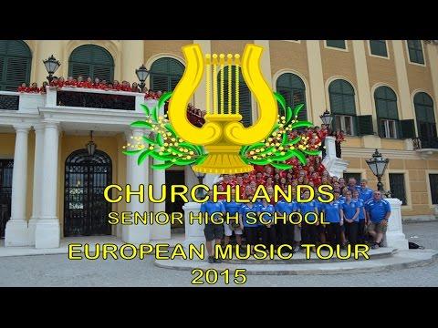 Churchlands SHS Music Tour 2015