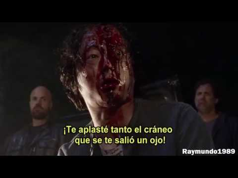 Negan mato a Glenn - The Walking Dead Temporada 7 - YouTube