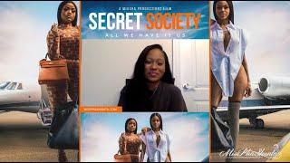 Erica Pinkett and Reyna Love Talks Secret Society The Movie With Correspondent PhaShunta