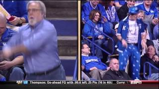 Kentucky Fans Dancing At Rupp