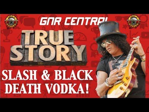 Guns N' Roses: Slash's Endorsement of Black Death Vodka! Use Your Illusion Era