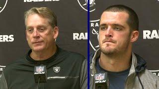 Raiders Post-Game: Coach Jack Del Rio and QB Derek Carr