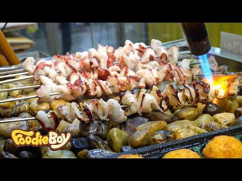 Grilled Octopus / Korean Street Food / Sokcho Central Market, Sokcho Korea