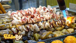 Grilled Octopus / Korean Street Food / Sokcho Central Market, Sokcho Korea