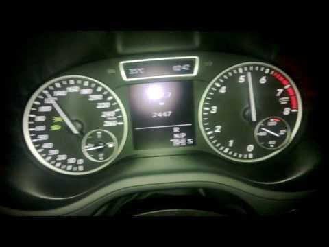 2013 Mercedes B 200 0-150 km/h (156 PS) 7G-DCT *HD*