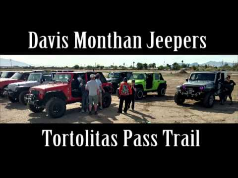 Davis Monthan Jeepers on Tortolitas Pass Trail