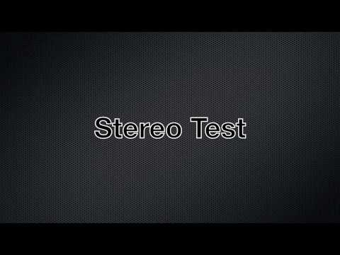 Stereo Sound Test for headphones or speakers in High Quality - HD