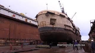 Морской порт г.Мариуполь (СРЗ) 19.04.2018