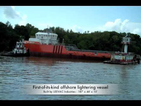 Launch of the AET Innovator offshore lightering vessel