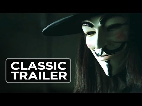 V For Vendetta (2005) Official Trailer #1 - Sc-Fi Thriller HD