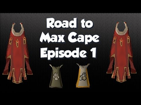 [OSRS] Road to Max Cape | Episode 1