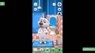 Обзор - Моя Говорящая Собака - для Андроид