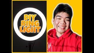 DIY RING LIGHT /JAMES ROMERO