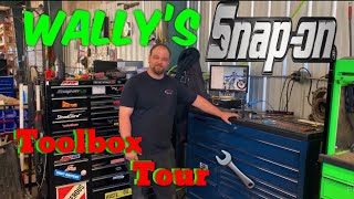 Snap On Toolbox Tour: What's in Wally's toolbox ?