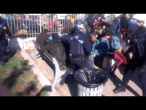 Marseille :  Intervention musclée sur la place Jean Jaurès