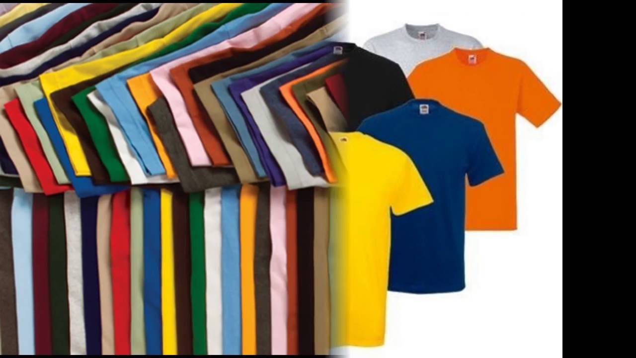8f38b16a5767e Wholesale plain t shirts in bulk - YouTube
