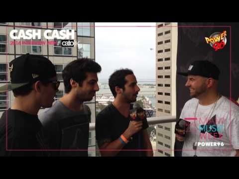 Miami Music Week 2014 - CASH CASH  [EXCLUSIVE VIDEO INTERVIEW]